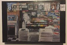"""FX SCHMID """"Decade Of The Fifties"""" 1000 Piece Puzzle NEW"""