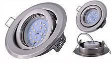LED Einbaustrahler 5Watt Deckenspot ultra flach Modul Leuchtmittel dimmbar