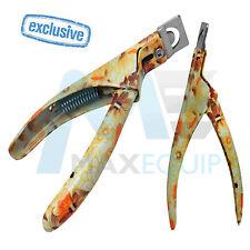 GEL UV Acrilico False Finte Unghie Tip Cutter in Acciaio Inox Manicure/Pedicure NUOVO