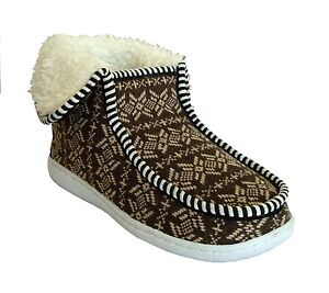 New Women Indoor/Outdoor Knitting Slipper Shoe Boot Nice Warm Comfortable-3028