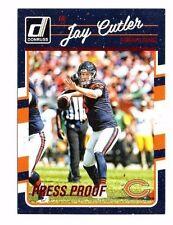 Jay Cutler 2016 Donruss, Press Proof, (Red), Football Card !!