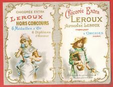 """1976 -Calendrier Publicitaire - non plié  """" Chicorée Extra"""""""" Leroux"""