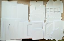 Hunkydory Assorted White Designer Card Blanks 4 Selections NEW
