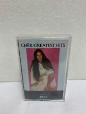 Cher: Greatest Hits Cassette 1974 MCA Records Brand New Sealed