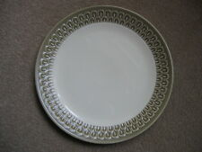 "Wedgwood Pottery BRAEMAR Design 1960's Green 9"" Dinner Plate - more available!"