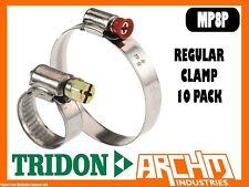 TRIDON MP8P REGULAR CLAMP 10 PACK 130MM-155MM MULTIPURPOSE PART STAINLESS