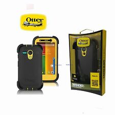 New OtterBox Defender Series Case for Motorola Moto G, Black Yellow 77-33030