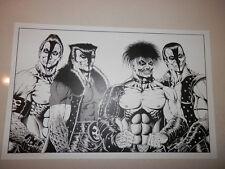 Joe Vigil Misfits American Psycho Famous Monsters Tim Print Poster Graves Doyle