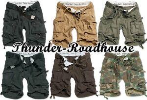 Surplus Division Short Bermuda Shorts Vintage Army Style div.Farben S-7XL