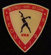 Softball Olympic Pin ~ Seoul~1988~ Beatrice Hunt Wesson