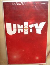 UNITY #1 VALIANT COMIC VARIANT RETAILER EXCLUSIVE  RED COVER