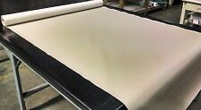 """10 YARDS LINEN FAUX LEATHER AUTO UPHOLSTERY FABRIC VINYL 54""""W PLEATHER"""