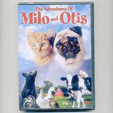 Adventures of Milo & Otis G family kids movie DVD Dudley Moore tabby cat pug dog
