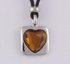 Modeschmuck-Halsketten & -Anhänger aus Stoff mit Liebe- & Herzen für Damen