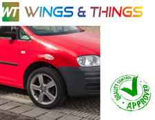 VW CADDY 2004 - 2010 WINGS PAIR DRIVER PASSENGER SIDE RED  ***BRAND NEW***