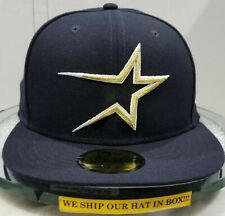 Houston Astros~MLB~New Era~59FIFTY~Cooperstown~Coop Wool 1994~Navy & Gold Logo