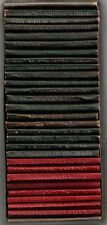 LITTLE LEATHER LIBRARY / Lot of 27 Classics / VG+ condition / Boxed