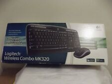 Logitech MK320 (920002836) Wireless Keyboard and Mouse Combo ** Sealed Boxed