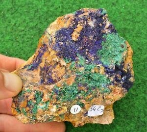 Large Azurite Malachite Crystal Mineral Raw Chrysocolla Gemstone Free P&P✔ #11