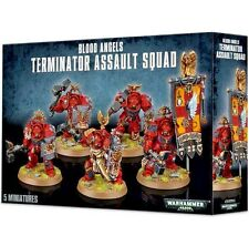 Space Marines BLOOD ANGELS TERMINATOR SQUAD Games Workshop Warhammer 40K=Lo COST