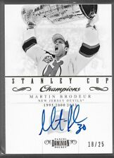 11/12 Dominion Stanley Cup Champions Auto Martin Brodeur /25 16 Devils