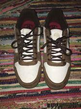 NWB Infamous Black Sheep Brand Shoes Size 13 Vintage Leather Rare Brown Plaid