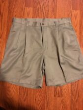 Euc! Izod Men's Size 36 The Driver Gray Cool Dry Microfiber Wicking Golf Shorts