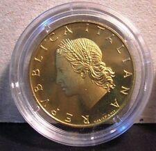 20 Lire 1989  Proof Fondo Specchio
