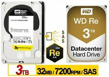 Western Digital RE SAS 3TB Enterprise Hard Drive WD 7200 RPM SAS 32MB WD300
