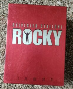 Rocky VHS Collection Commemorative 20th Anniversary Movie Gift See Description
