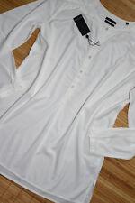 MARC O'POLO wunderschöne Stretch Tunika Bluse Gr. 34 neu Weiß seitliche Schlitze