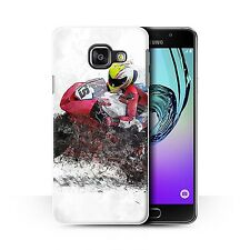 STUFF4 Case/Cover for Samsung Galaxy A3 (2016)/Fragments/Motorbike Sketch