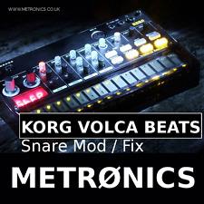 Korg Volca Beats Modification Service Snare Mod & Volume Mod Manufacturing Fault