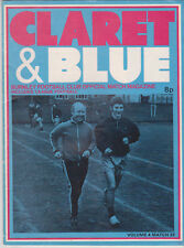 Programme / Programma Burnley FC v Everton 16-03-1974
