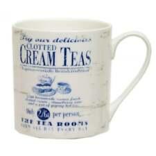 ECP - Mug - White with Cream Teas Design - CAJ40GD