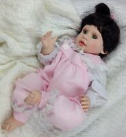 Sweet & Innocent Collection Baby Doll Girl Weighted Lifelike Size 20 Inches
