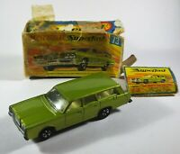 Vintage Matchbox Superfast 73 Mercury Commuter Diecast Within Original Box or 55