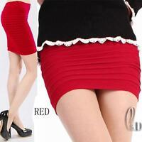AU SELLER Celeb Style Womens Girls Bodycon Mini Skirt/Tube Top SZ S-M dr117