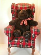RARE VINTAGE TEDDYBEAR BY ARTIST GLADYS  WITH SGUEAKER ORIGINALSWIVEL HEAD