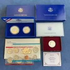 1986 United States Liberty Coins w/Coa & other Us Commemoratives - Free Ship Us