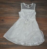Ted Baker Debenhams Girls Gorgeous Occasional White Dress 8 Years