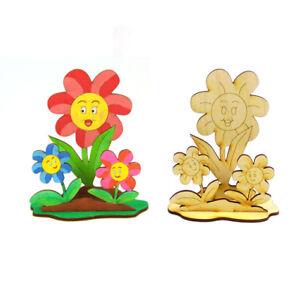 Kreativset für Kinder, Blume zum malen Kindergeburtstag, Basteln, Geschenk