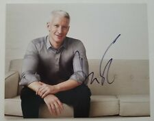 Anderson Cooper Signed 8x10 Photo CNN TV Host Broadcast Journalist Author RAD