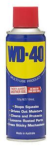 WD-40 Multi-Purpose Lubricant Aerosol 150g 61001