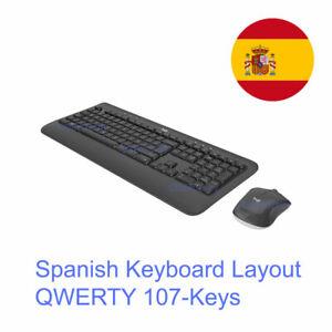 Logitech MK540 Advanced USB Wireless Spanish Keyboard and Mouse Combo 920-008673