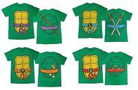 Authentic TMNT Teenage Mutant Ninja Turtles Costume Adult T-Shirt Tee NEW