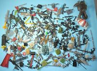 Lot Modern GI Joe Cobra Marvel Star Wars & More Accessories Weapons Parts Pieces