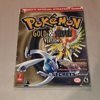 PRIMA Pokemon Gold&Silver Nintendo Gameboy Color Strategy Players Guide OEM