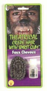 Crêpe Cheveux Avec Spirit Gum