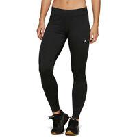 Asics Womens Sport Winter Tight Black Sports Running Warm Breathable Lightweight